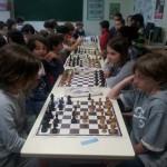les élèves de l'école sainte thérèse s'initient aux échecs.